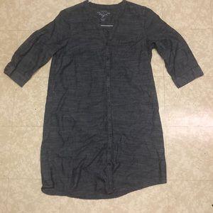 Sonoma 100% cotton shirt dress